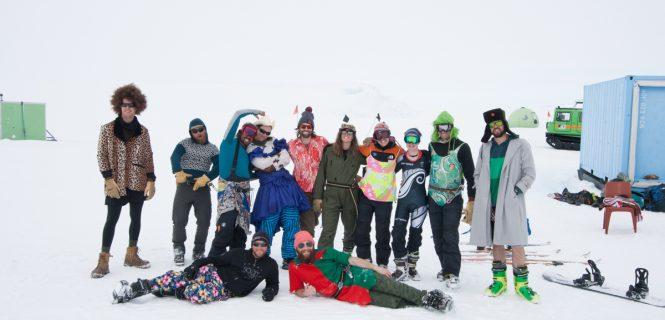 kiwi ski hill antarctica